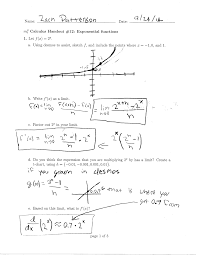 Exponential Functions Word Problems Worksheet Zpattersoncalculus Page 2