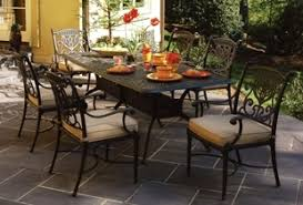 cast aluminum patio furniture outdoor furniture tables chairs