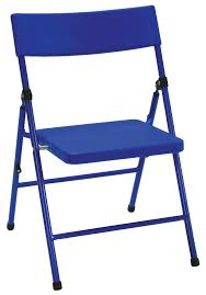 cosco products cosco kid u0027s pinch free folding chair blue