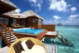 House Over Water Maldives Overwater Bungalow Ocean At Huvafen Fushi Idolza