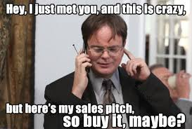 Just For You Meme - an open letter to sales reps
