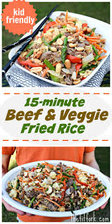rice table for kids no fail 15 min beef veggie fried rice so simple a kid could cook