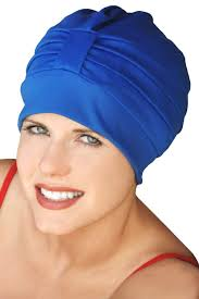 shower and swim cap in one by sync vintage retro bathing hat turban bathing cap