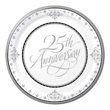 25th wedding anniversary plates 25th wedding anniversary poems wedding ideas
