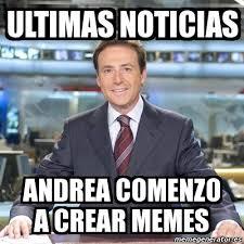Meme Andrea - meme matias prats ultimas noticias andrea comenzo a crear memes