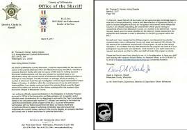 Letter Of Intent Binding by Milwaukee County Sheriff Clarke Jr Signs Letter Of Intent To
