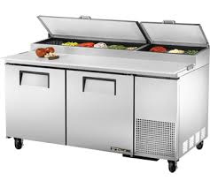 continental pizza prep table commercial refrigerators from norlake turbo air true continental
