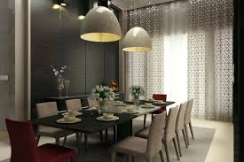 standard height pendant light over dining table pendant lights