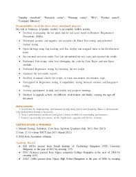 Sample Resume For Qtp Automation Testing by 3 Yrs Exp Soa Automation And Manual Tester Resume