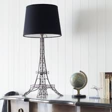 Eiffel Tower Bedroom Curtains Eiffel Tower Lamp With Black Shade View All Bedroom Bedroom