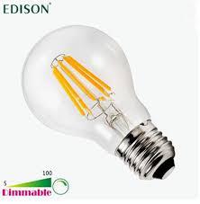 new dimmable edison cob filament globe light e27 led 110 240v 4w