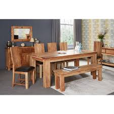 indian wood dining table acacia dining table large with 6 chairs verty indian furniture