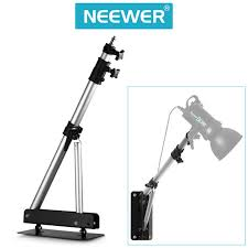 wall mount strobe light neewer heavy duty wall mounting boom arm photography studio video