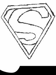 Superman Coloring Pages Coloringmates Clip Art Library