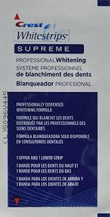 crest supreme whitening strips crest whitestrips supreme professional whitening 84