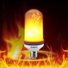 led flame effect fire light bulbs greluna led flame light bulb e26 led flame effect fire light bulbs