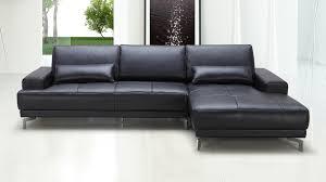 3 Seat Sectional Sofa Black Sectional Sofa Zuri Furniture