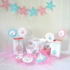 diy printable pastel owl decorations for birthdays or