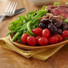 cuisine nicoise cherubs tomato grilled steak salad nicoise recipe naturesweet