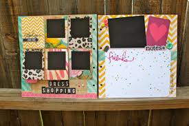 Handmade Scrapbook Albums Large Chipboard Album Custom Scrapbook Custom Guestbook Ready