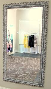 Gold Frame Bathroom Mirror How To Update And Revamp Large Mirrors In Minutes