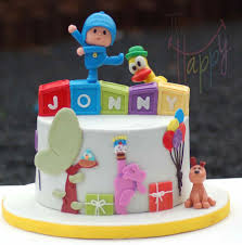 pocoyo cake toppers pocoyo cakecentral