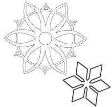 paper ornaments snowflakes mashustic