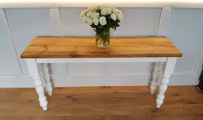 rustic console table entrance table hall table side table t v