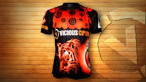 nicklee tiger front technical sports and training apparel