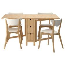 furniture oak rectangle double drop leaf dining table with storage