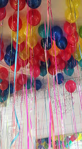 50 balloons delivered ceiling balloons professionally arranged and delivered by