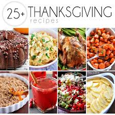 25 recipes for thanksgiving wishes and dishes