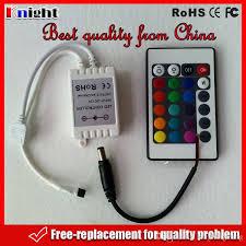 best quality 12v rgb 24keys remote controller box 72w 3528 5050