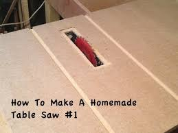convert circular saw to table saw how to make a homemade table saw 1 youtube