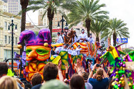 mardi gras events in the west via magazine
