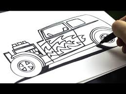 45 draw cars images draw