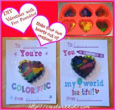 crayon valentines printable cards with crayon hearts valentines