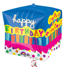 inflated balloons delivered cubez happy birthday cake balloon delivered inflated in uk