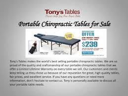 chiropractic roller table for sale calaméo portable chiropractic tables for sale