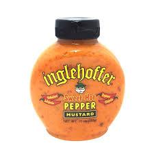 inglehoffer sweet hot mustard inglehoffer mustard sweet hot pepper from safeway instacart