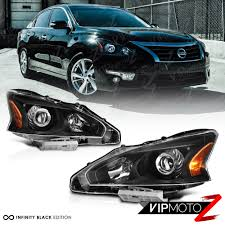 nissan altima 2015 lebanon for 2013 2015 nissan altima factory style black headlights lamps