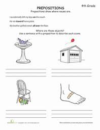 what is a preposition worksheet education com