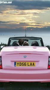 nissan micra convertible pink more nissan micra c c pink uk motor1 com photos
