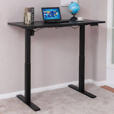 Anthro Sit Stand Desk Anthrodesk Sit To Stand Height Adjustable Standing Desk Black