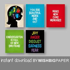 classroom wall art prints instant download