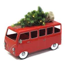 vw snowman zaer ltd international vw inspired christmas tree bus zr801355 rd
