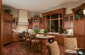 surprising lodge kitchen style with rectangle shape kitchen island
