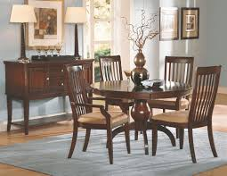 pedestal dining room table sets bench a natural cherry wood dining room furniture sets in a