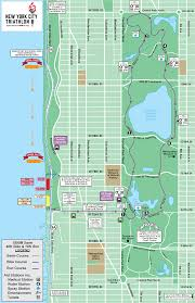 Map Run Route by Course Information New York City Triathlon