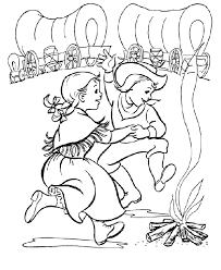 colonial boy coloring page best early american home life coloring page felicity colonial free